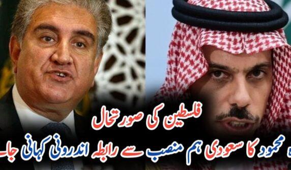 Pakistan, Saudi Arabia express serious concerns over precarious developments in Palestine UrduLight.com
