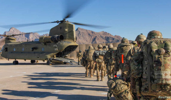 US pull-out from Afghanistan speeding up UrduLight.com