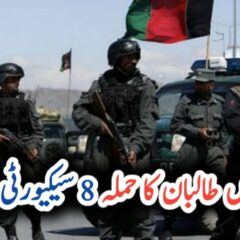 Afghanistan: At least eight security force personnel killed in Taliban attack UrduLight.com
