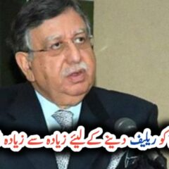 Govt taking maximum measures to provide relief to common man: Tarin UrduLight.com